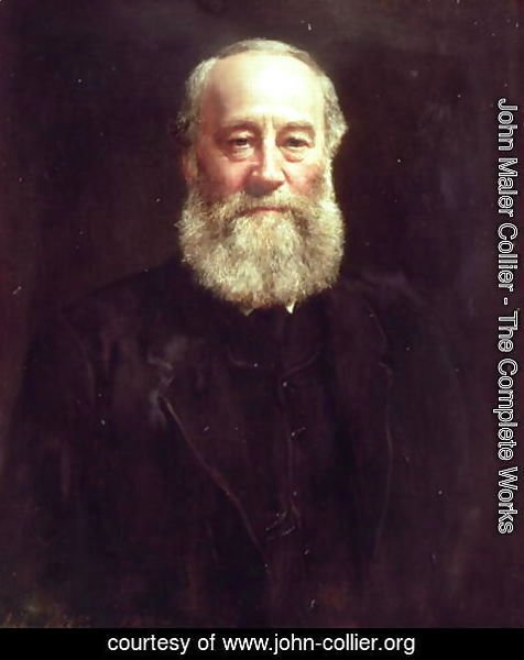 John Maler Collier - Portrait of James Prescott Joule (1818-89)