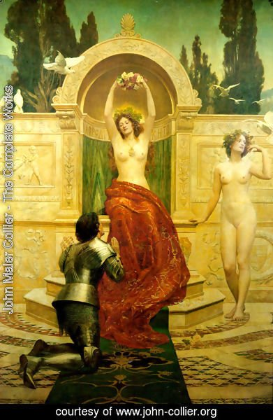 John Maler Collier - In the Venusburg (Tannhauser), 1901