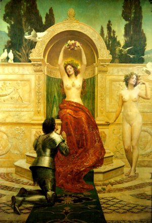 In the Venusburg (Tannhauser), 1901