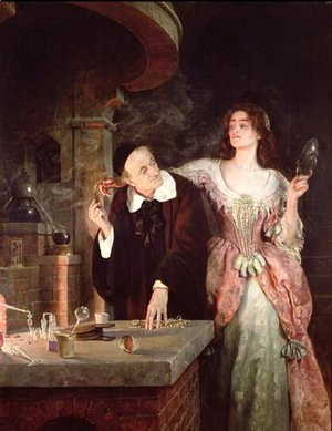 John Maler Collier - The Laboratory, 1895