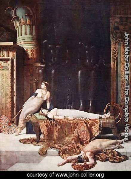 John Maler Collier - The Death of Cleopatra