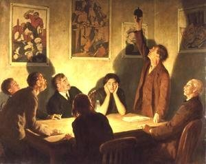 John Maler Collier - The Brotherhood of Man