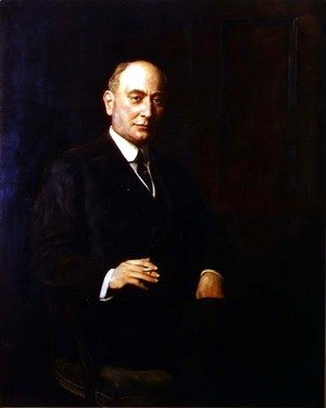 John Maler Collier - Portrait of Sir Landon Ronald