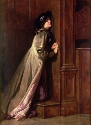 John Maler Collier - The Sinner, 1904