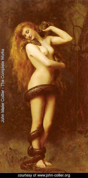 John Maler Collier - Lilith, 1887