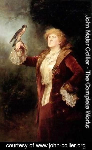 John Maler Collier - Ellen Terry as Lucy Ashton