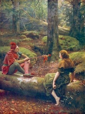 John Maler Collier - In the Forest of Arden