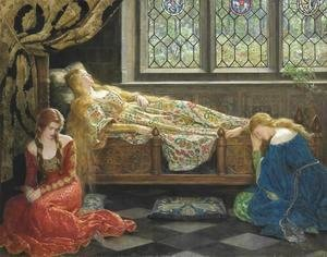 John Maler Collier - Sleeping Beauty