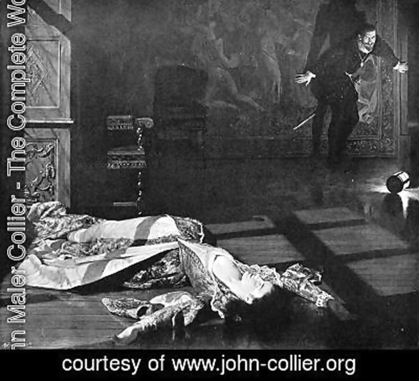 John Maler Collier - The Plague