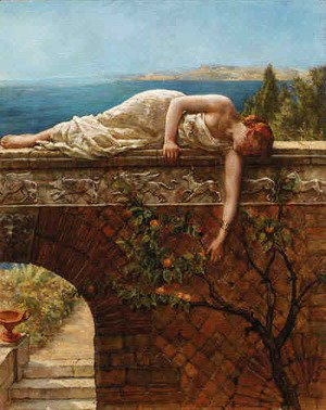 John Maler Collier - The Daughter of Eve