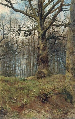 John Maler Collier - The Spring wood