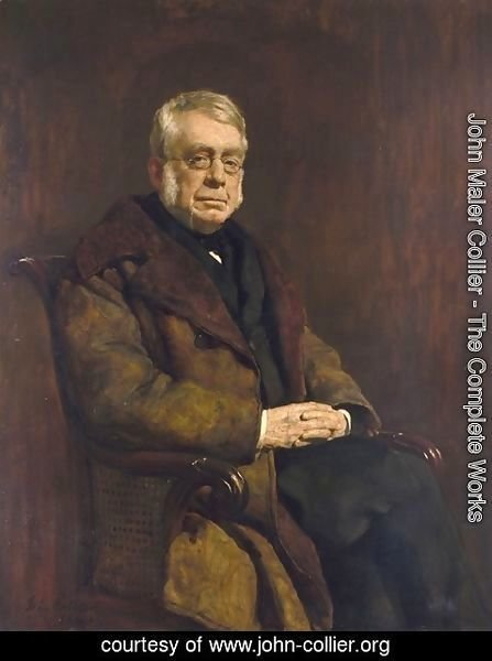 John Maler Collier - Sir George Biddell Airy