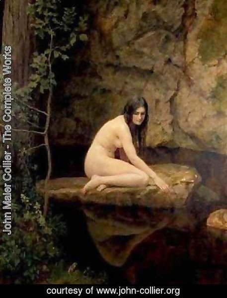 John Maler Collier - The Water Nymph